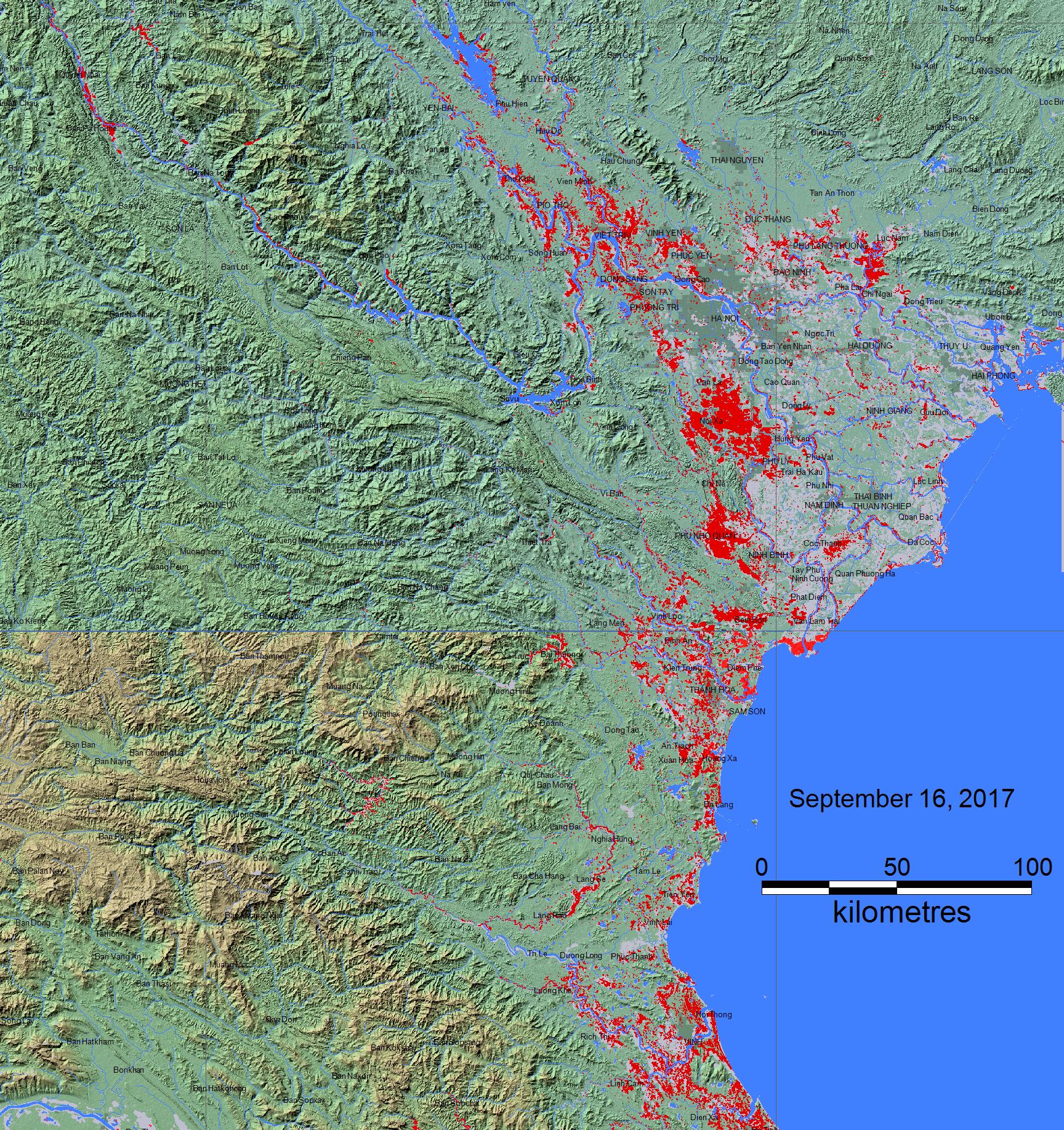Flooding Vietnam - Longitude and latitude of vietnam