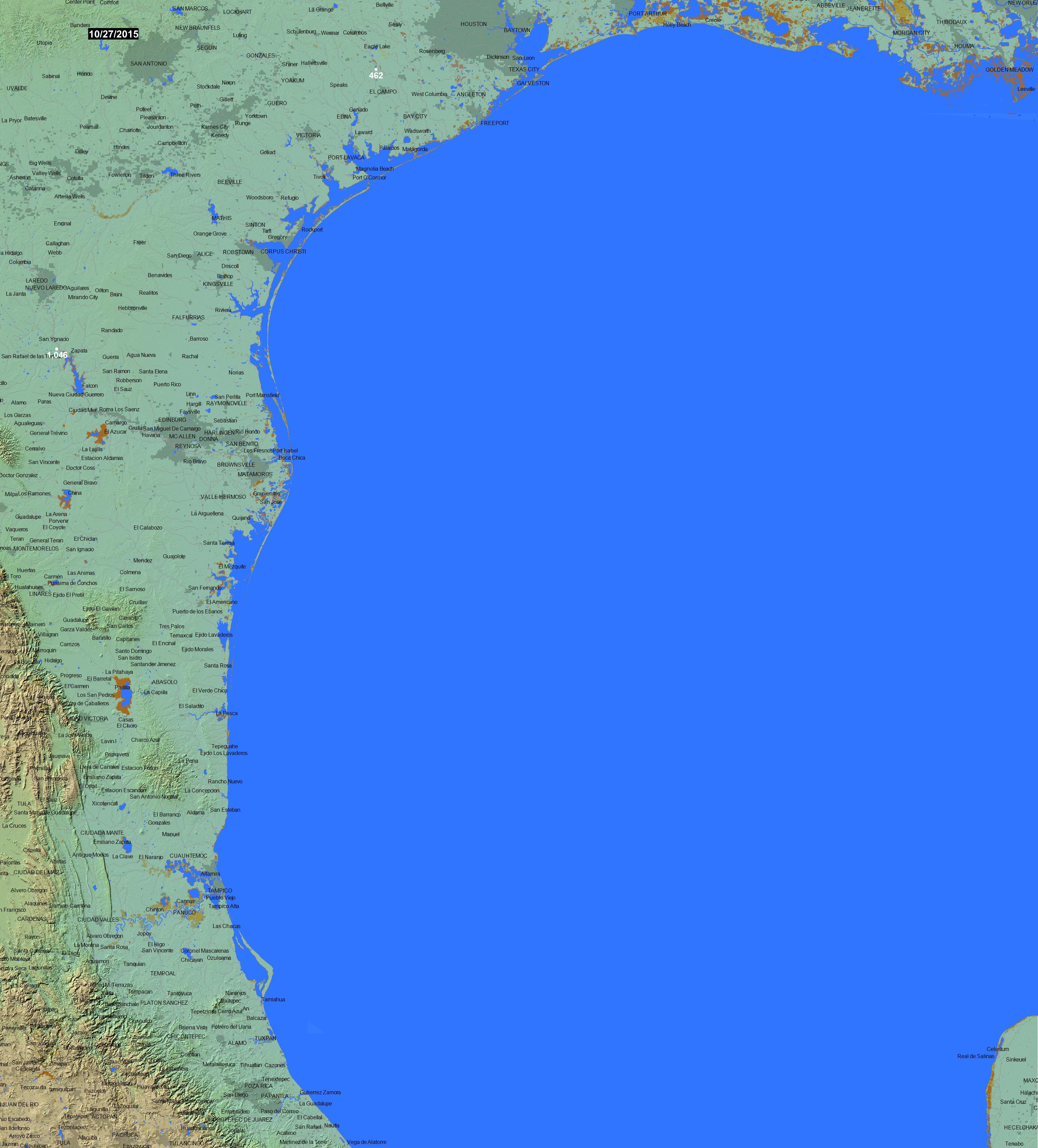 Global Atlas Of Floodplains 100w030n
