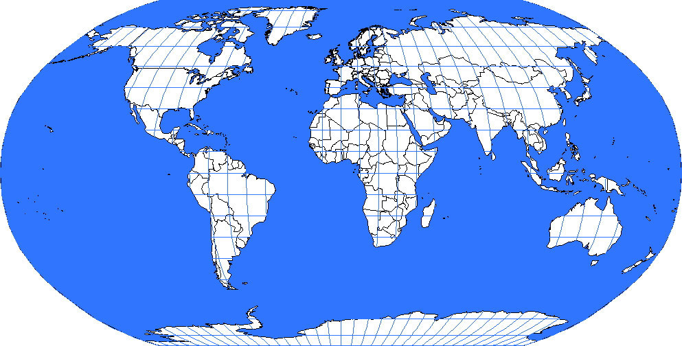 Global Map Images.Global Index Map